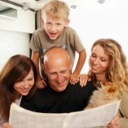 Great Reunions always include news, so have a newspaper